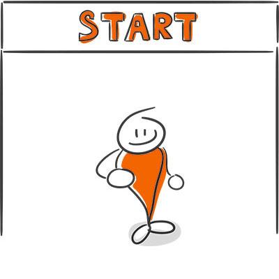 Messebauer finden: Start