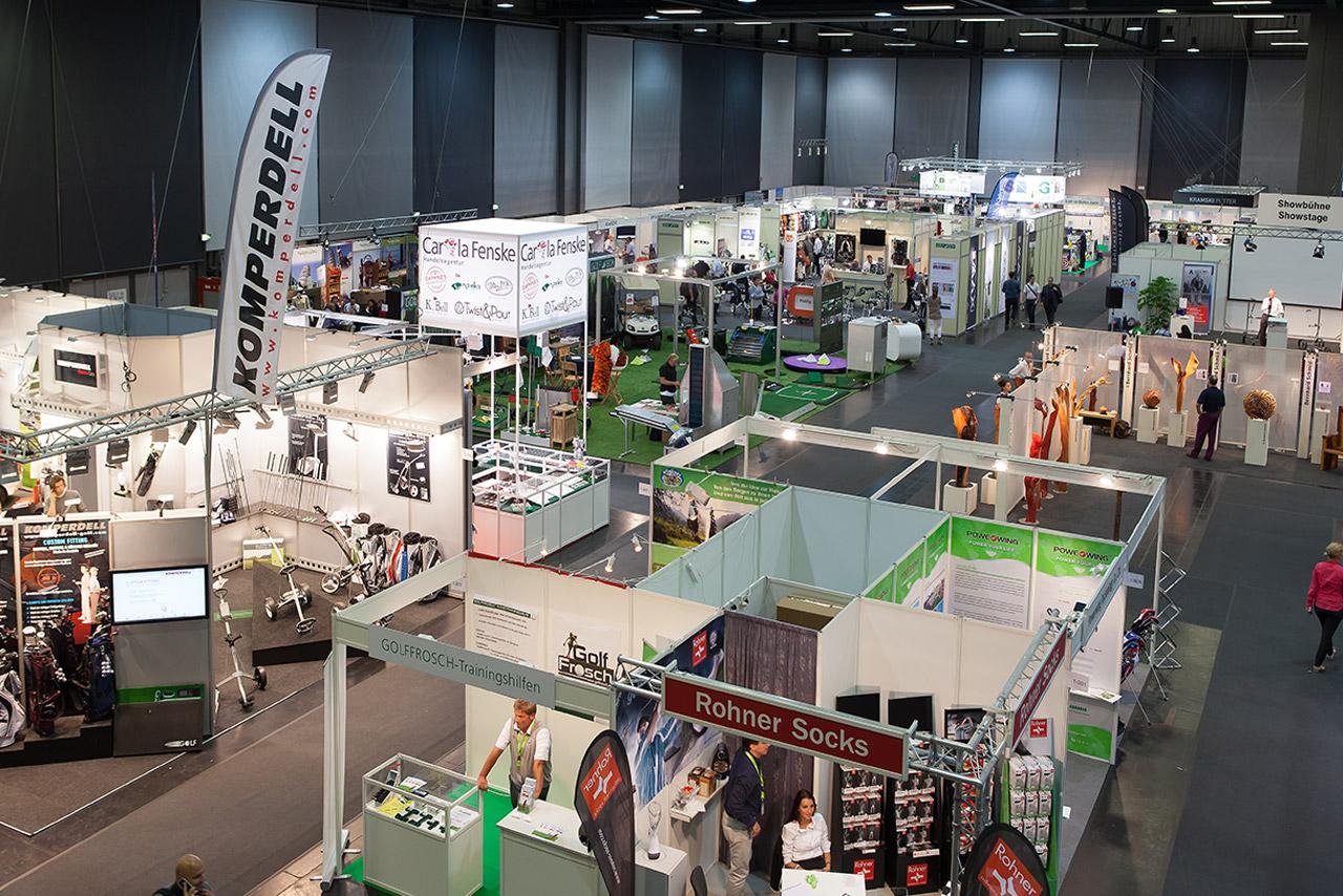 Messebau mit System Golf Europe München