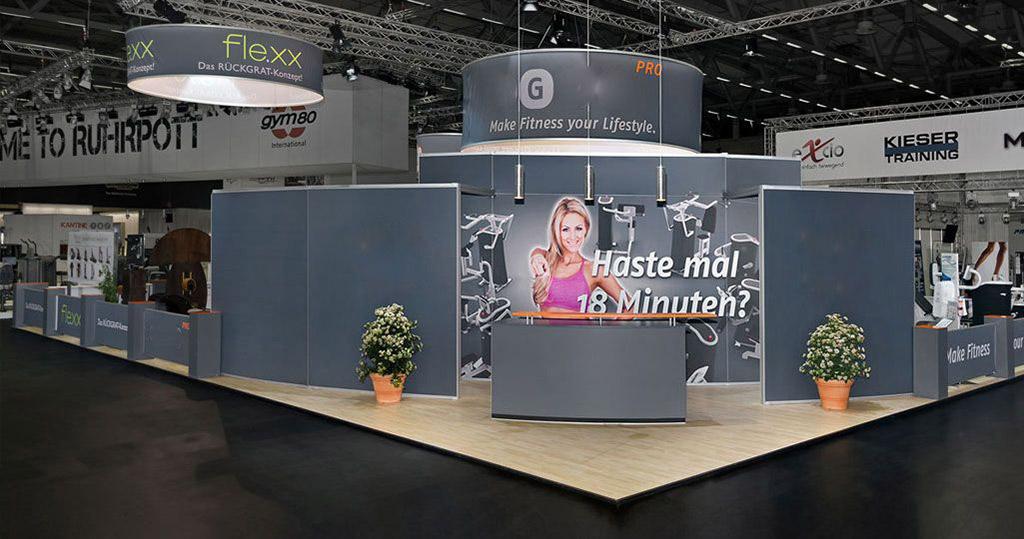 Messestand Frankfurt - Messebau mit Fernwirkung