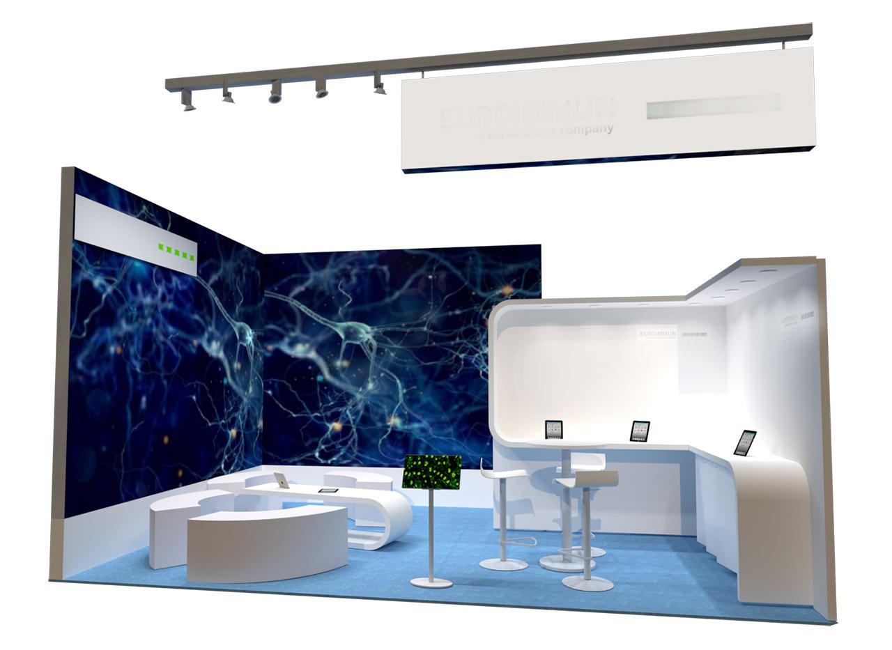 Messestand modernes Design - Messebauer Frankfurt