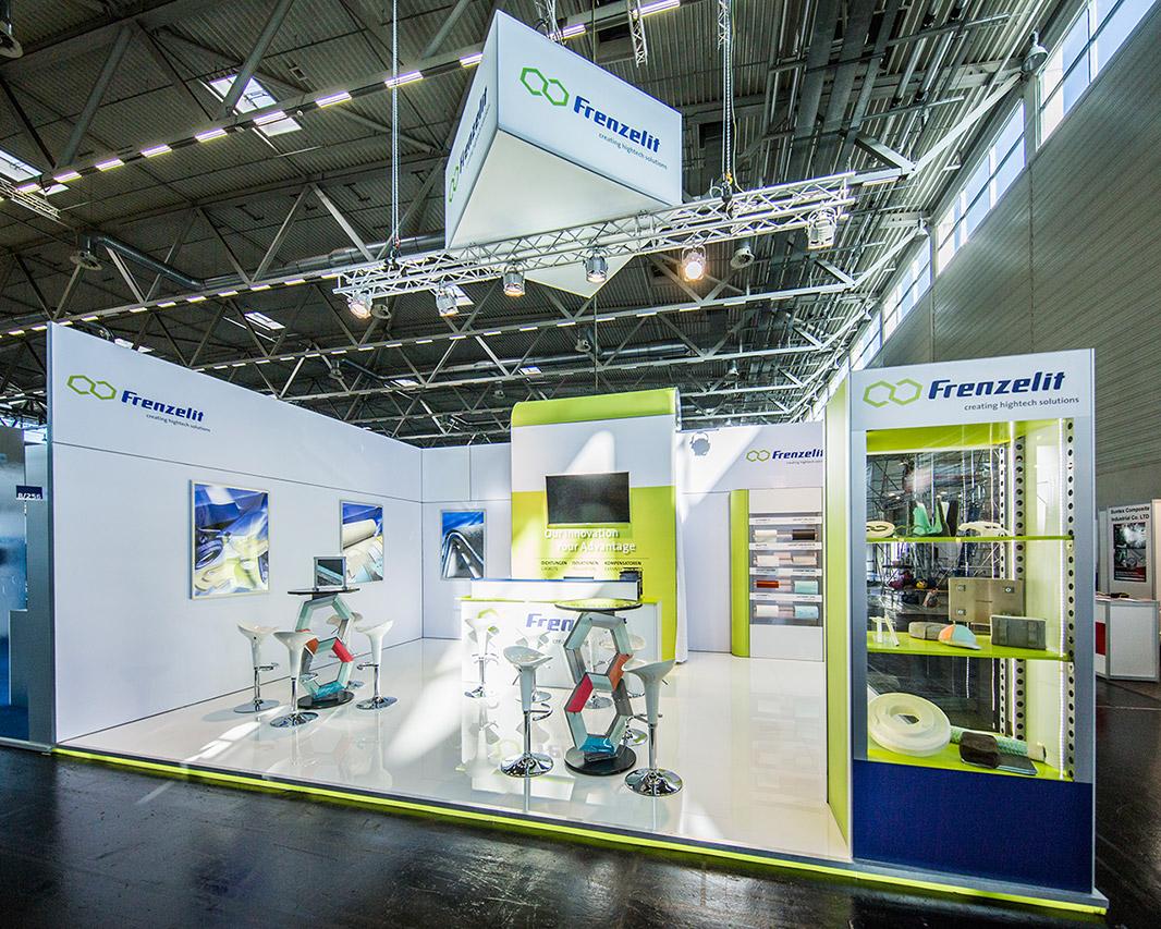 Messebau Frankfurt: Messestand IEX Köln