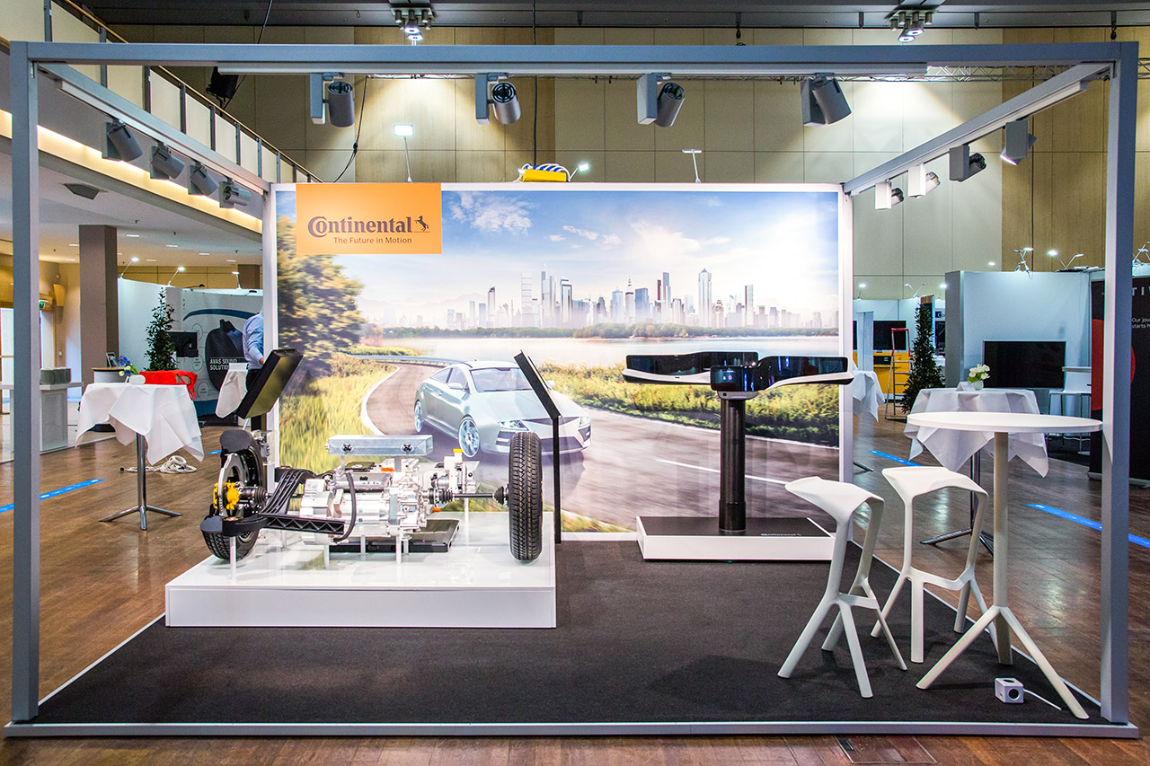 Messebauer Frankfurt: Messestand Continental VDA Berlin