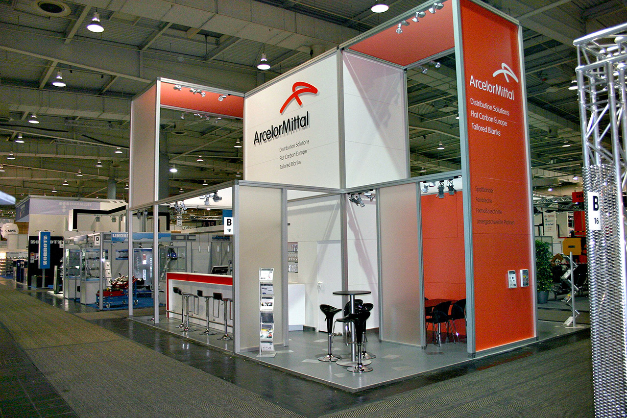 Messestand System Messebau Berlin