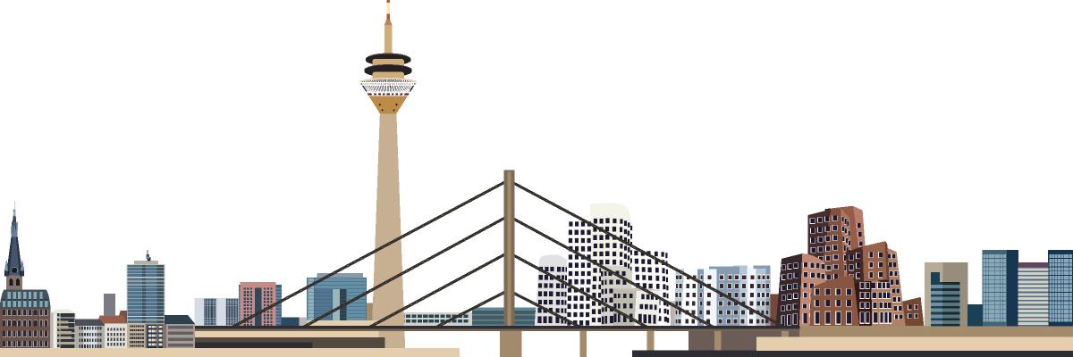 Messebau Düsseldorf - Messestand auf der Messe Düsseldorf