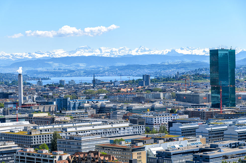 Messeauftritt Zürich